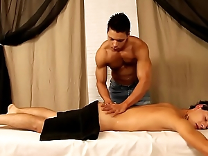 gay massage with cumshot