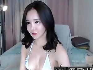 Beautiful Korean girl enjoying herself with sex toy and live performance show@www.livepussy.site