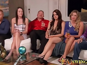 Sexy swinger events law into a big orgy