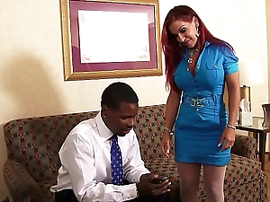 White Girl Loves Some Black Cock!