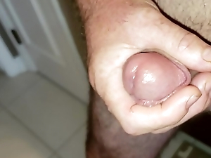 Jerking wanting Daddy had to cum. Mommy wasn'_t home