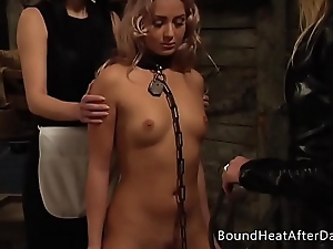 Pleasure and Pain: Enslaved Girl Furiously Whipped By Mistress