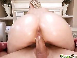 Big butt blonde fucking