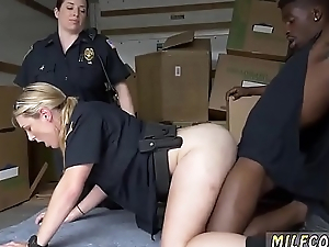 Step mom babe Black suspect taken on a raunchy ride