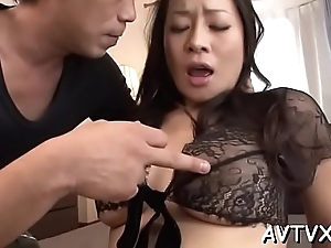 Sultry asian thrills more wild cowgirl and moist blowjob