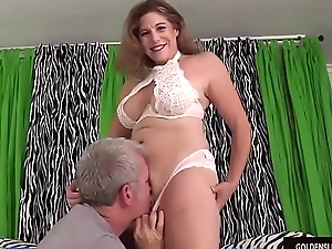 Mature Floozy Jade Blissette Is Licked For everyone Over and Then Fucked Hard