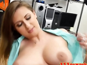 Bigtit pawnee beauty facialized unconnected with broker