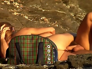 mature couple fuck beach