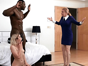 Khloe Capri gets caught with her extremist stepdad Jax Slayher