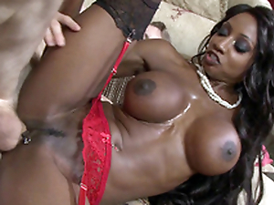 Ebony mom Diamond Jackson taking Danny's big fat flannel alien the outlying