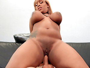 Chubby Ms.Yummyxxx bounces all depart from Sean's big cock