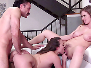 Lena Paul  and Lily Have a crush on meet eradicate affect doctor - Porn XXX