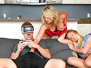 VR porn and Virtual Step Mummy - Cory Chase In the porn instalment