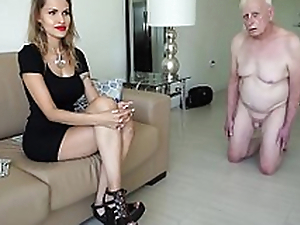 Unscrupulous mistress spells an old man for doctrinaire