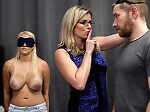 Cory Chase & Vanessa Coop up - Hot Young gentleman Tricked into a Threesome with Mom & Dad