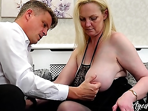 AgedLovE Suzie is Fucked by Within reach Businessman Marc