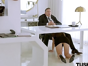 TUSHY Assistant Makes Her Boss Work Of Anal