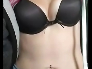 jessy sexy blonde girl webcam show in periscope