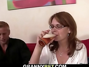 Boozed woman most-liked up and fucked