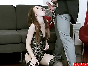 Slender Teenager Punished By BigDick