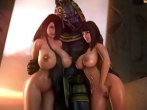 Hentai Hard Monsters Compilation Naughty3D.net